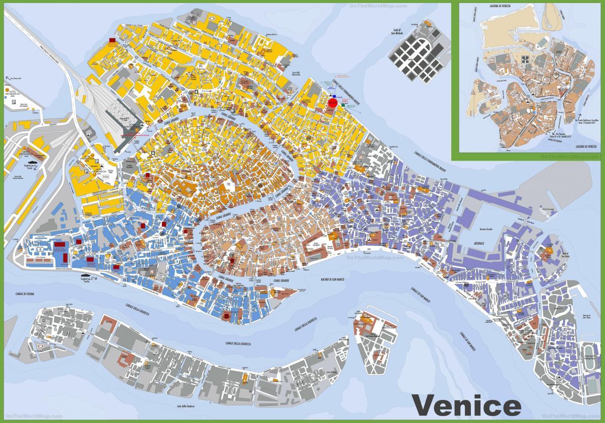 Street Map Of Venice Italy Street Map Of Venice Italy Free