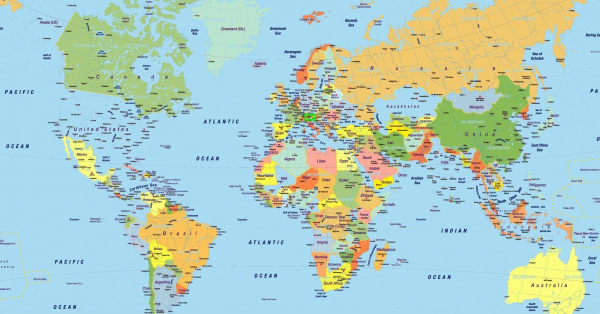 Venice location map - Venice italy world map (Italy)